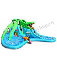 Надувной батут Крокодил